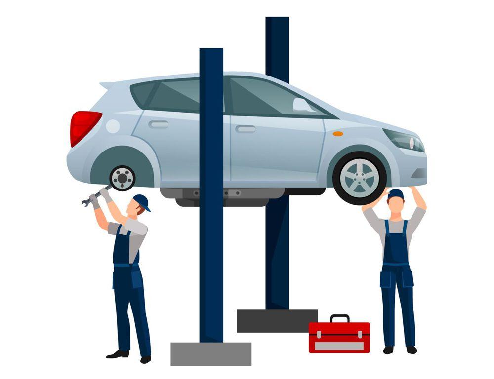 Služby autoservisu, sezónní prohlídky vozidel aut