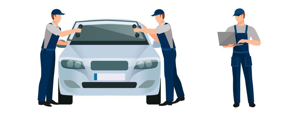 Opravy a výměna autoskel skel